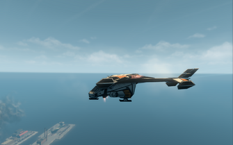 Condor - jet mode - left in Saints Row The Third