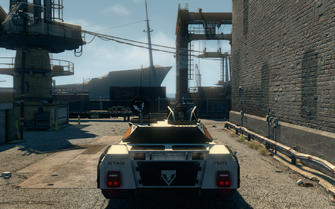Crusader - rear in Saints Row The Third