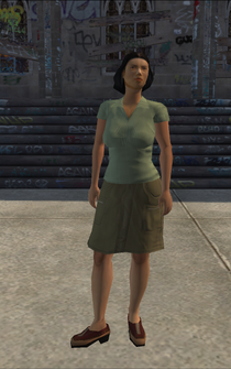 Generic young female 01 - asian - character model in Saints Row