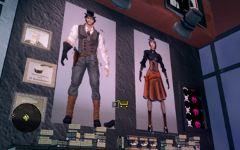 Nobody Loves Me wall featuring Steampunk outfits