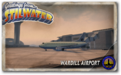 Postcard hood wardill airport
