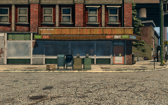 Steelport News exterior in Saints Row The Third