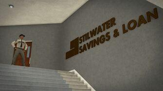 Stilwater Savings & Loan - interior sign