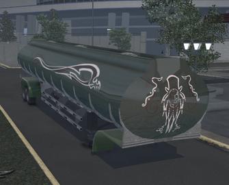 Tank trailer - SOS variant