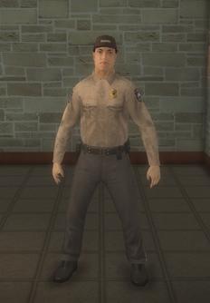 Cop - prison hispanic male - character model in Saints Row 2