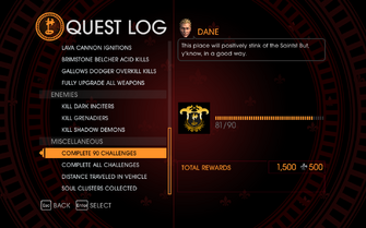 Gat out of Hell Challenge - Complete 90 Challenges