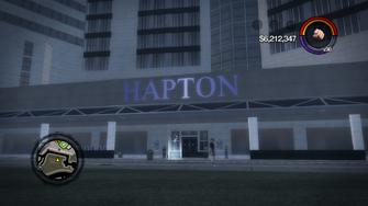Hotel Penthouse entrance