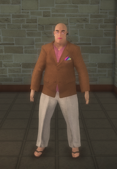 Javier - character model in Saints Row 2