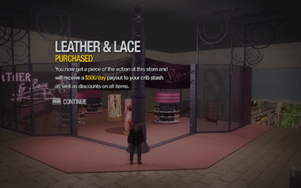 Leather & Lace in Rounds Square purchased in Saints Row 2