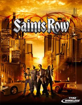 Saints Row mobile main screen logo