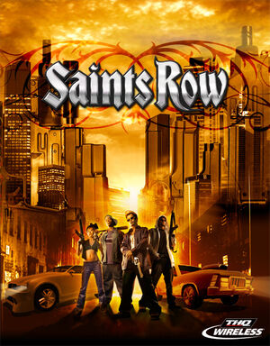 Saints Row mobile main screen logo