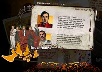 Saints Row promo website - Angelo
