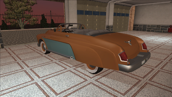 Saints Row variants - Gunslinger - Classic Convertible - rear left