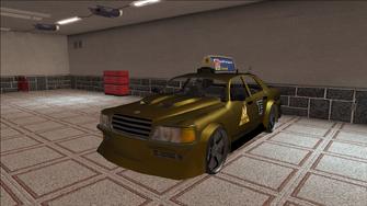 Saints Row variants - Taxi - Eagle B - front left