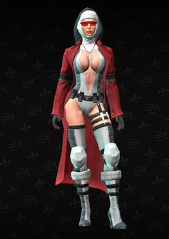 Viola - Bloody Canoness - character model in Saints Row The Third