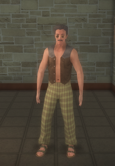 Hippie male - white - character model in Saints Row 2
