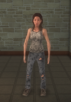 Junky - white female - character model in Saints Row 2