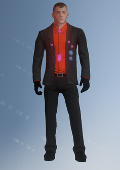 Morningstar - Victor - character model in Saints Row IV