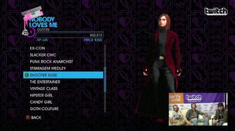 Nobody Loves Me - Shooter Suzie Outfit in Saints Row IV