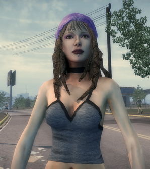 Shaundi closeup in Saints Row 2