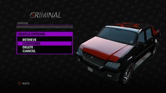 Criminal - Morningstar variant is customizable