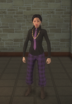 Gang Customization - Prephop - female lieutenant - asian
