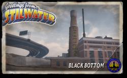 Postcard hood black bottom