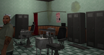 Rusty's Needle - Bavogian Plaza - behind counter in Saints Row