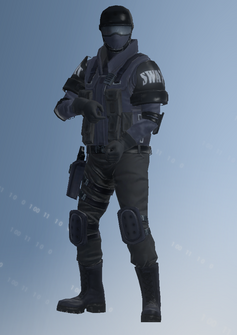 SWAT sniper - Colin - character model in Saints Row IV