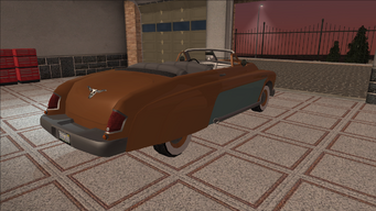 Saints Row variants - Gunslinger - Classic Convertible - rear right