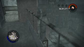 Stilwater Penitentiary - armory exterior walkway