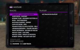 The Mix 107.77 - Saints Row The Third tracklist - top