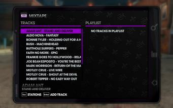 The Mix 107.77 - Saints Row The Third tracklist - top