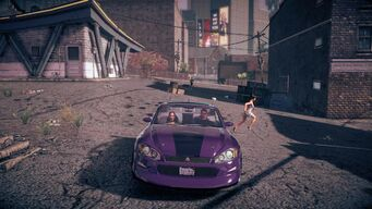 Torch - front in Saints Row IV