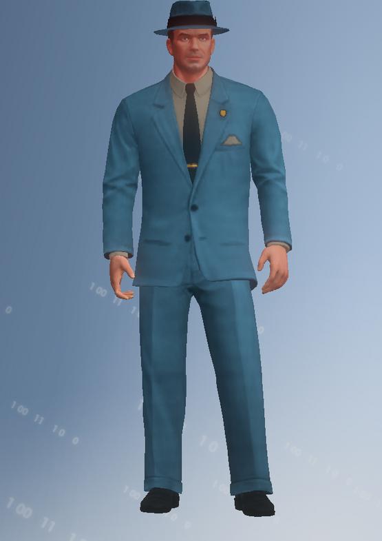 50s bizman - character model in Saints Row IV