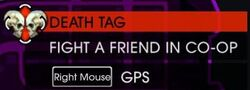 Death Tag on Map in Saints Row IV