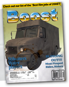 Delivery Truck - Chop Shop magazine
