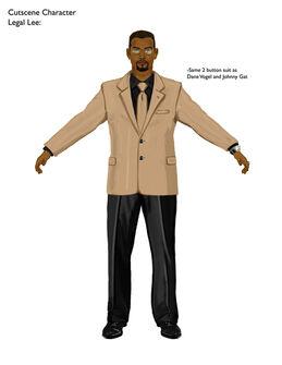 Legal Lee Saints Row 2 Concept Art