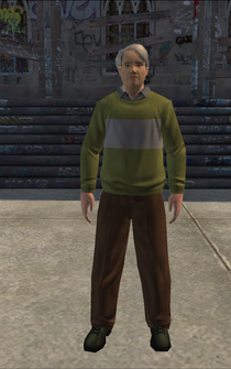 MiddleAge male 02 - asian - character model in Saints Row