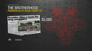 Poseidon Alley Docks - complete 5000 cash