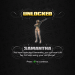 Saints Row unlockable - Homies - Samantha