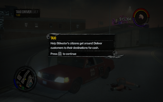 Taxi Driver tutorial