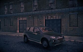 Atlantica - front right at night in Saints Row IV