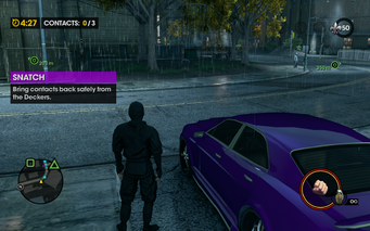 Deckers Snatch in Saints Row The Third