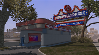 Forgive and Forget southern entrance