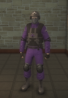 Gang Customization - Bodyguards - male soldier 2 - asian
