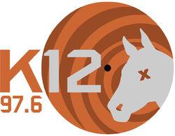 K12 FM 97.6 logo