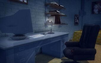 Red Light Loft - Classy - desk