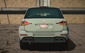 Saints Row IV variants - Atlantica Ultimate - rear