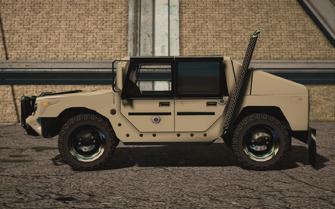 Saints Row IV variants - Bulldog Military - left